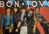 Bon Jovi - 'Group Old Picture' Postcard